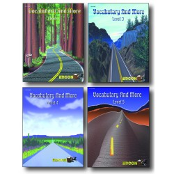 All 4 Levels 2-5 CLOZE Vocabulary and More PDF eBooks