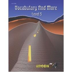 CLOZE Vocabulary and More Level 5