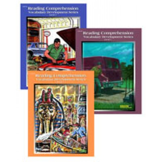 All 3 Level 7 Reading Comprehension eBooks with Student Activities
