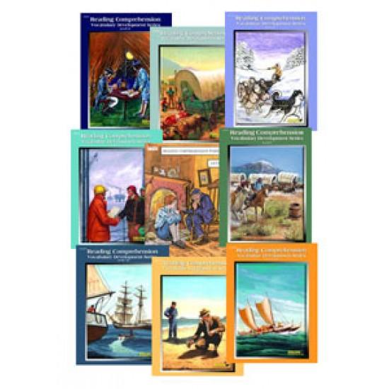 Reading Comprehension Workbooks - All 9 Books Grades 8-10 Reading Levels