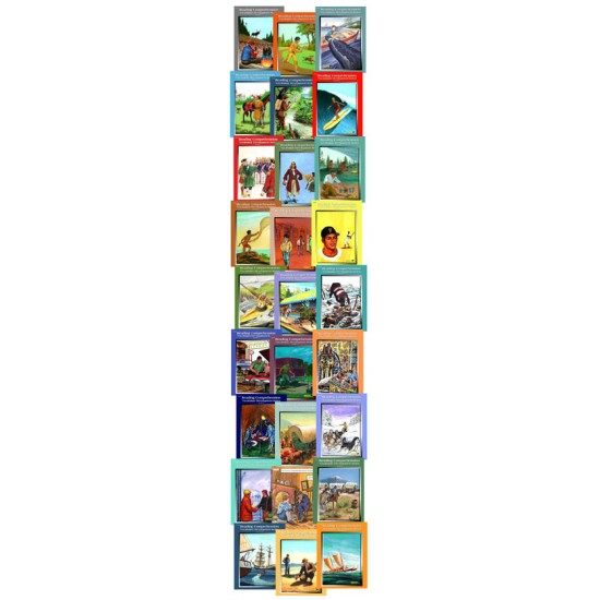 All 27 Levels 2-10 Reading Comprehension eBooks with Student Activities