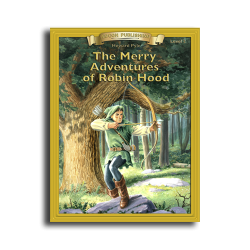 The Merry Adventures of Robin Hood Printed Book