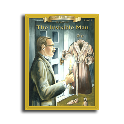 Invisible Man by H.G. Wells Reading Level 3 Printed Book