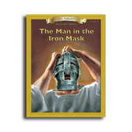 The Man in the Iron Mask by Alexandre Dumas Level 3 Printed Book