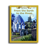 From the Earth To the Moon by Jules Verne Reading Level 4 Printed Book
