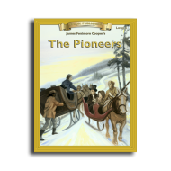 The Pioneers by James Fenimore Cooper Reading Level 4 Printed Book
