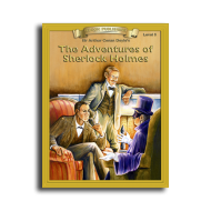 Adventures of Sherlock Holmes by Sir Arthur Conan Doyle Reading Level 5 Printed Book