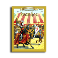 Ivanhoe by Sir Walter Scott Reading Level 5 Printed Book