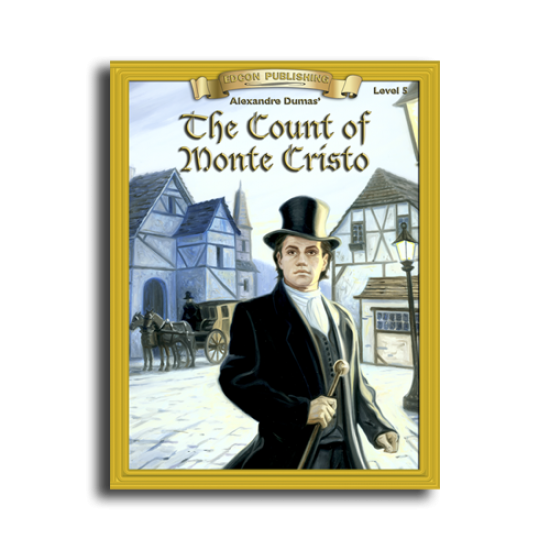 The Count of Monte Cristo by Alexandre Dumas Reading Level 5 Printed Book
