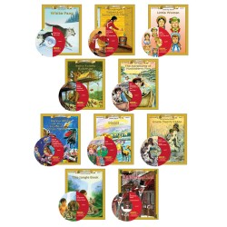 All 10 Classic Read-alongs Level 1 PDF eBooks with Activities and Audio MP3s DOWNLOAD