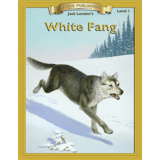 White Fang 10 Chapter Classic Read-along PDF eBook with Activities and Narration
