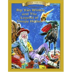 Rip Van Winkle and the Legend of Sleepy Hollow 10 Chapter Classic Read-along PDF eBook with Activities and Narration