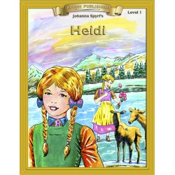 Heidi 10 Chapter Classic Read-along PDF eBook with Activities and Narration