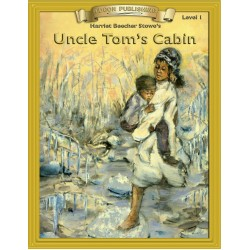 Uncle Tom's Cabin 10 Chapter Classic Read-along PDF eBook with Activities and Narration