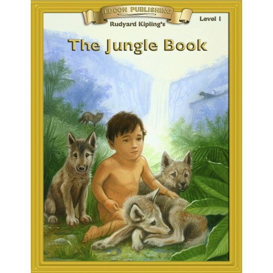 The Jungle Book 10 Chapter Classic Read-along PDF eBook with Activities and Narration