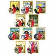 All 10 Classic Read-alongs Level 2 PDF eBooks with Activities and Audio MP3s DOWNLOAD