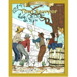 Tom Sawyer 10 Chapter Classic Read-along PDF eBook with Activities and Narration