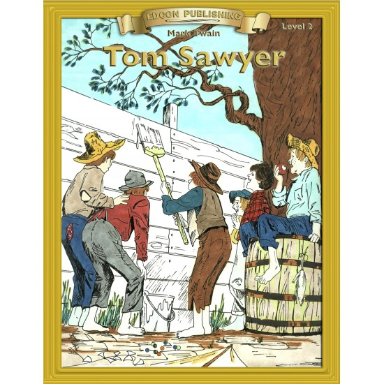 The Adventures of Tom Sawyer PDF eBook with STUDENT ACTIVITY LESSONS