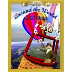 Around the World in 80 Days 10 Chapter Classic Read-along PDF eBook with Activities and Narration
