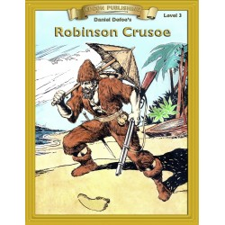 Robinson Crusoe 10 Chapter Classic Read-along PDF eBook with Activities and Narration