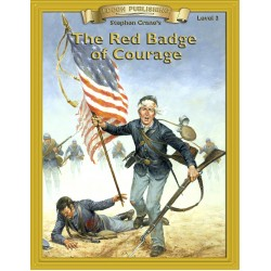 The Red Badge of Courage 10 Chapter Classic Read-along PDF eBook with Activities and Narration