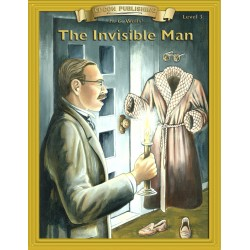 The Invisible Man 10 Chapter Classic Read-along PDF eBook with Activities and Narration