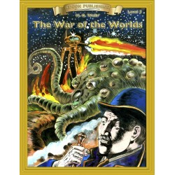 The War of the Worlds 10 Chapter Classic Read-along PDF eBook with Activities and Narration