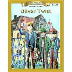 Oliver Twist 10 Chapter Classic Read-along PDF eBook with Activities and Narration