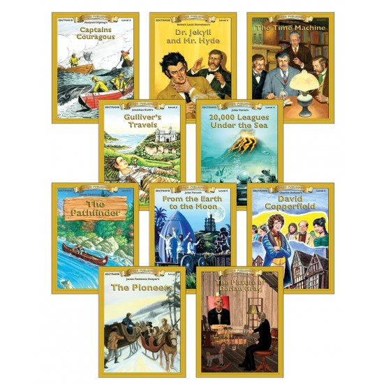 All 10 Level 4.0-5.0 Classic PDF eBooks DOWNLOAD with STUDENT ACTIVITY LESSONS