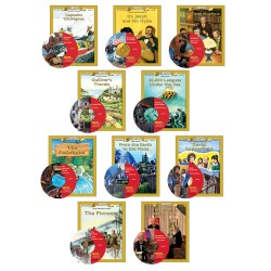 All 10 Classic Read-alongs Level 4 PDF eBooks with Activities and Audio MP3s DOWNLOAD
