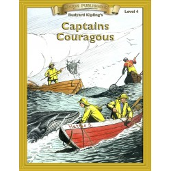 Captains Courageous 10 Chapter Classic Read-along PDF eBook with Activities and Narration