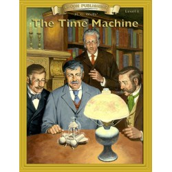 The Time Machine 10 Chapter Classic Read-along PDF eBook with Activities and Narration