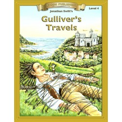 Gulliver's Travels 10 Chapter Classic Read-along PDF eBook with Activities and Narration
