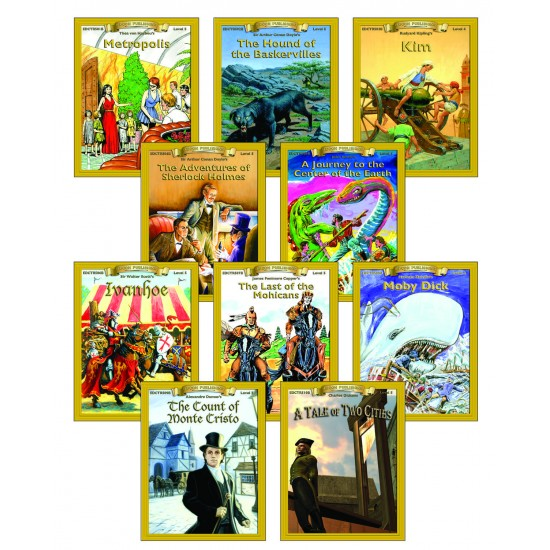 ALL 10 Level 5.0-6.0 Classic PDF eBooks DOWNLOAD with STUDENT ACTIVITY LESSONS