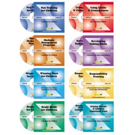 All 8 Children's Lifes-skills Audiobooks