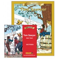 Tom Sawyer Book and Audio CD