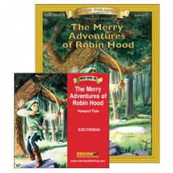 The Merry Adventures of Robin Hood Book and Audio CD