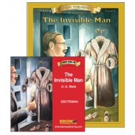 Invisible Man Book and Audio CD