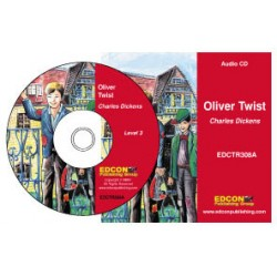 Oliver Twist - Charles Dickens - Grade 3 Reading Level Audio CD: