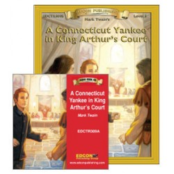 A Connecticut Yankee in King Arthur's Court Book with Audio CD