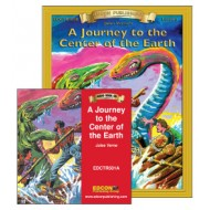 A Journey to the Center of the Earth Book with Audio CD