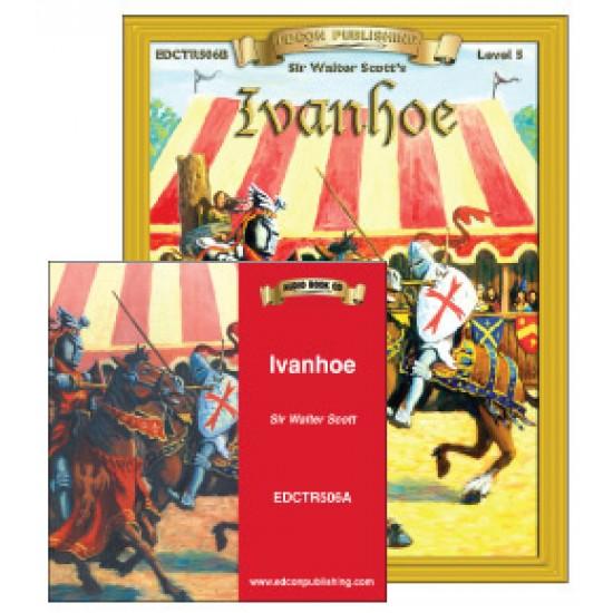 Ivanhoe Book with Audio CD