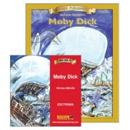 Moby Dick Book with Audio CD