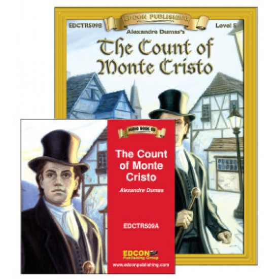 The Count of Monte Cristo Book with Audio CD