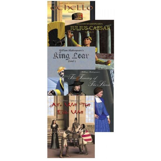 All 5 Level 5 Shakespeare Books