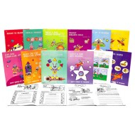 Collection of all 12 ZIM Activity Books