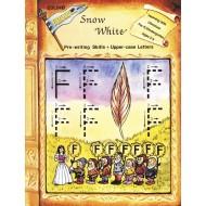 Snow White, Pre-Writing (Upper Case)