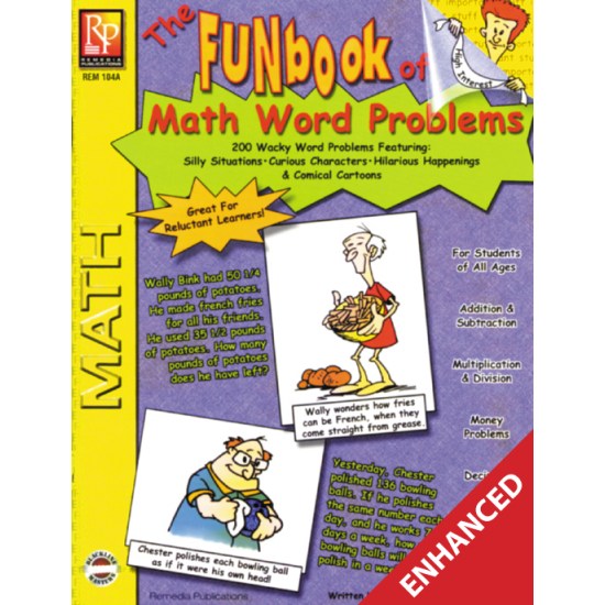 The FUNbook of Math Word Problems  Enhanced eBook