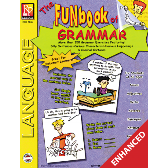 The FUNbook of Grammar Enhanced eBook