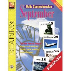 Daily Comprehension: September  Enhanced eBook